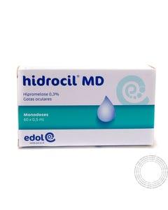 Hidrocil MD Gotas Oftálmicas 60 monodoses x 0,5 mL