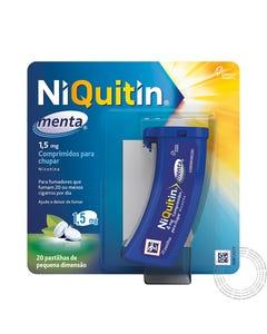 Niquitin Menta 1,5mg 20 Comprimidos Chupar
