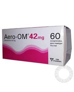 Aero-OM (42 mg) 60 Comprimidos para Mastigar