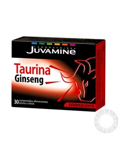 Juvamine Taurina Giseng 30 Comprimidos Efervescentes