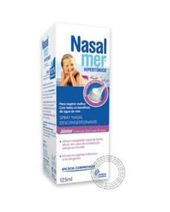 Nasalmer  Spray Nasal Hipertónico Júnior 125 ml