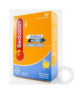 Redoxon +Zn (1000mg+10mg) 20 Comprimidos Efervescentes