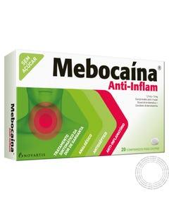 Mebocaína Anti-Inflam (1.2 mg + 3 mg) 20 Comprimido para chupar
