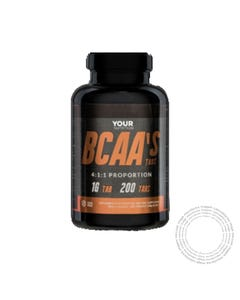 Your Nutrition BCAA'S 4:1:1 200 Comprimidos