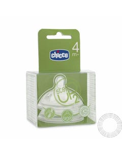 Chicco Step Up Tetina Fluxo Rapid 4M+ 2 Un