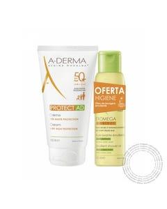 A-Derma Protect-Ad Creme Spf50+ 150ml + Oferta Oleo Duche 100ml