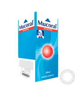Mucoral Infantil 2% Xarope 200ml