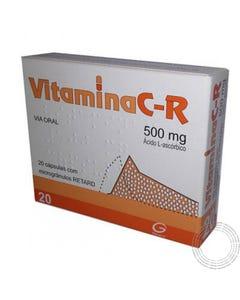 Vitamina C-R 500mg 60 Cápsulas