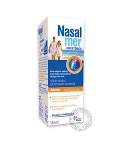 Nasalmer Spray Nasal Hipertónico Adulto 125 ml