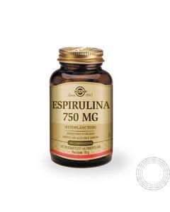 Solgar Spirulina 750mg 100 Cápsulas