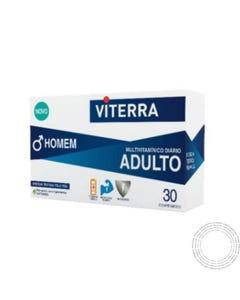 Viterra Homem 30 comprimidos