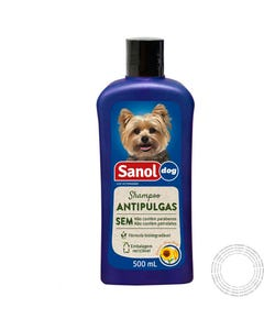VET SHAMPOO SANOL DOG ANTI-PUL GAS 500ML