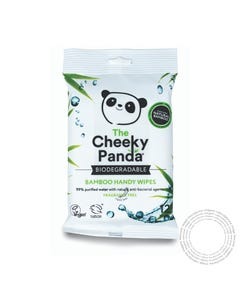 Cheeky Panda Bebe Toalhitas Multiuso Bambu 12 Un