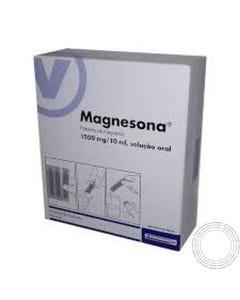 Magnesona (1500 mg/10 ml) 20 Ampolas