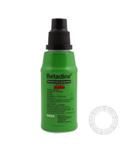 Betadine (100mg/ml) 125 ml Solução para Gargarejar