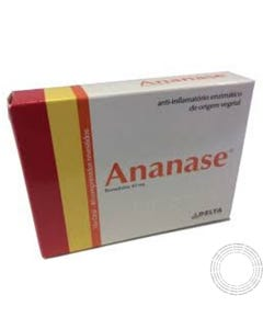 Ananase 40mg 40 Drageias