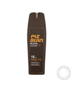 Piz Buin Ultra Light Spf15+ Spray 200Ml