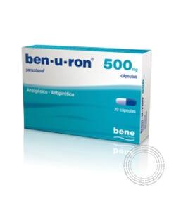 Ben-U-Ron 500mg 20 Capsulas