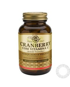 Solgar Cranberry+Vit.C 60 Vegcaps