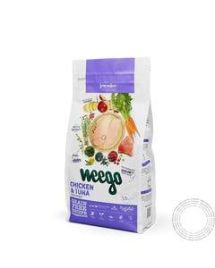 Ração Seca Weego Gatinho Frango & Ovos  12 Meses - 1,5Kg Weego Chicken & Eggs