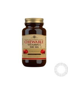 Solgar Vitamina C 500Mg Arando Framboesa 90 Comprimidos Mastigaveis
