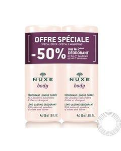 Nuxe Body Desodorizante  Longa Duração 50 Ml