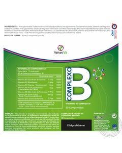 Complexo B Velvet 30 Comprimidos