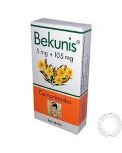 Bekunis 5mg+105mg 20 Comprimidos