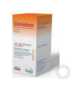 Dimidon (20 mg/ml) 200 ml Suspensão oral