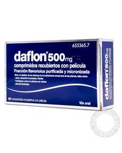 Daflon 500 (500mg) 60 comprimidos