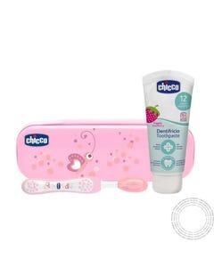 Chicco Kit Higiene Oral Rosa