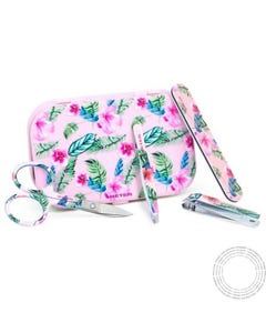 Beter Mini Travel Kit Essenciais Manicure Rosa