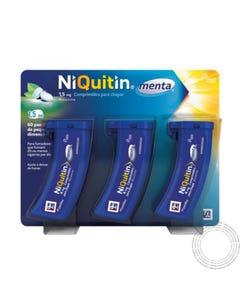 Niquitin Menta 1,5mg 3X20 Comprimidos Chupar