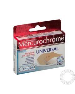 Mercurochrome Banda Universal 6x10CM 10 Unidades