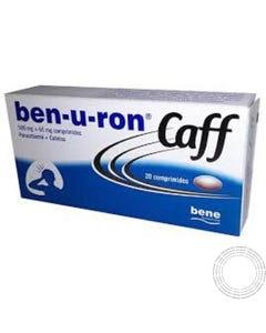 Ben-u-ron Caff 500mg+65mg 20 Comprimidos