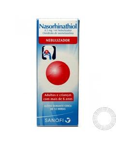 Nasorhinathiol 0,05% Suspensão Nebulização 15ml