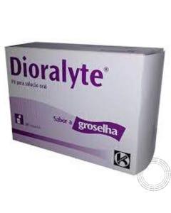 Dioralyte Groselha 20 Carteiras