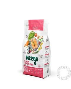 Ração Seca  Gato Adulto Weego Esterilizado Salmão & Chá Verde-  1,5Kg