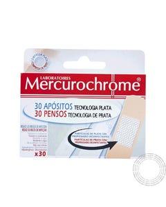 Mercurochrome Pensos Tecnolog Prata 30 Unidades