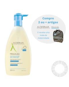 A-Derma Primalba Gel Corpo Cabelo 500ml
