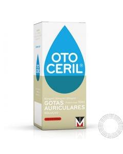 Otoceril (50 mg/ml + 20 mg/ml + 20 mg/ml) 10 ml Gotas Auriculares