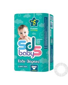 Fraldas SDS BabyT5 12-25Kg 44 Unidades