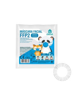 Mascara FFP2 Infantil BHC Azul Pack 2 Unidades