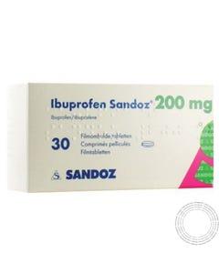Ibuprofeno Sandoz 200mg 60 Comprimidos