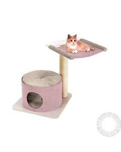Arranhador Gatos Simba C/ Poste E Cama