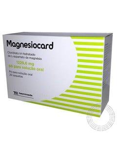 Magnesiocard (1229.6 mg) 20 Saquetas Pó para Solução Oral