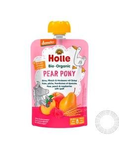 Holle Bio Saqueta Pear Pony +8m 100G