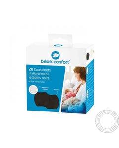 Bebe Confort Discos de peito Descartáveis 20 unidades preto +2 unidades bege