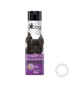 VET SHAMPOO K- DOG PELOS ESCUR OS 500ML