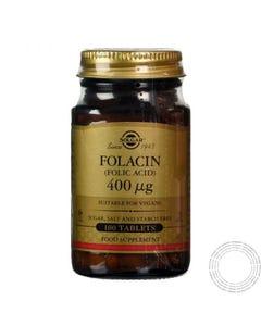 SOLGAR FOLACIN (AC FOLICO) 400MCG 100 COMP